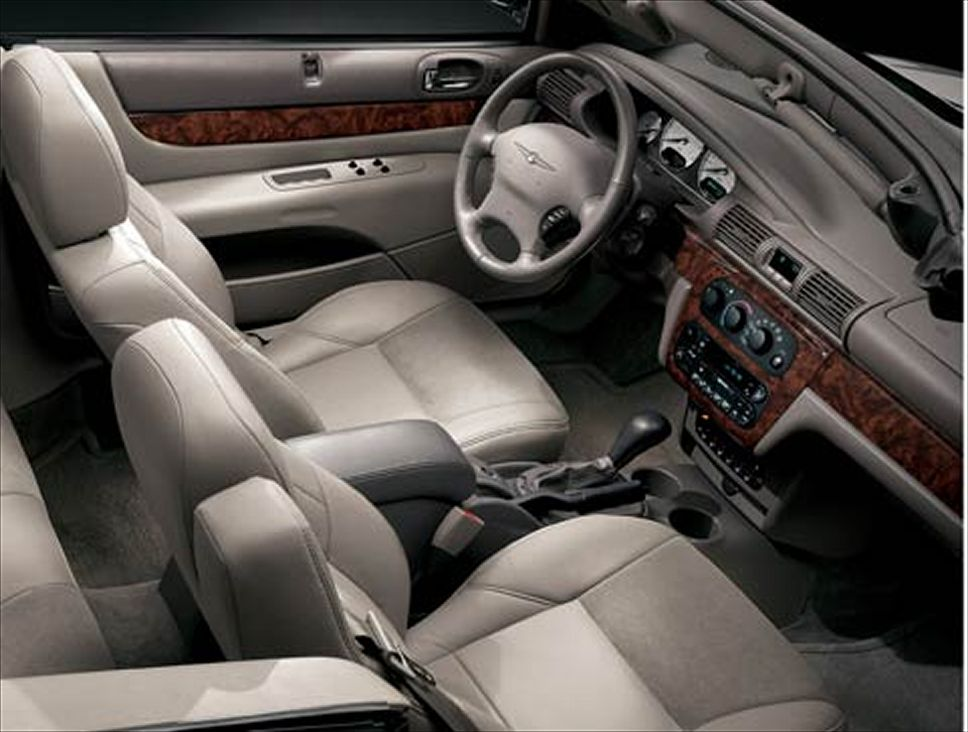 Chrysler sebring review and photos chrysler sebring interior publicscrutiny Image collections