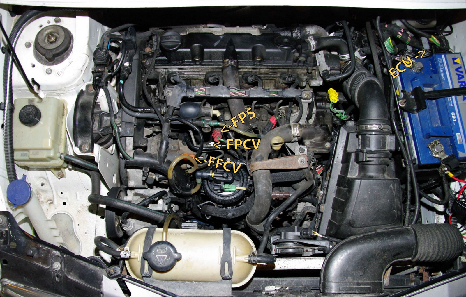 CITROEN 3 engine