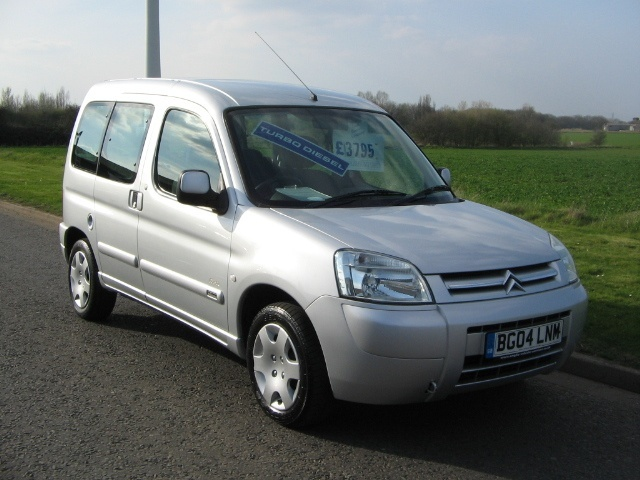 CITROEN BERLINGO MULTISPACE silver