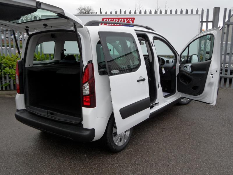 CITROEN BERLINGO MULTISPACE white