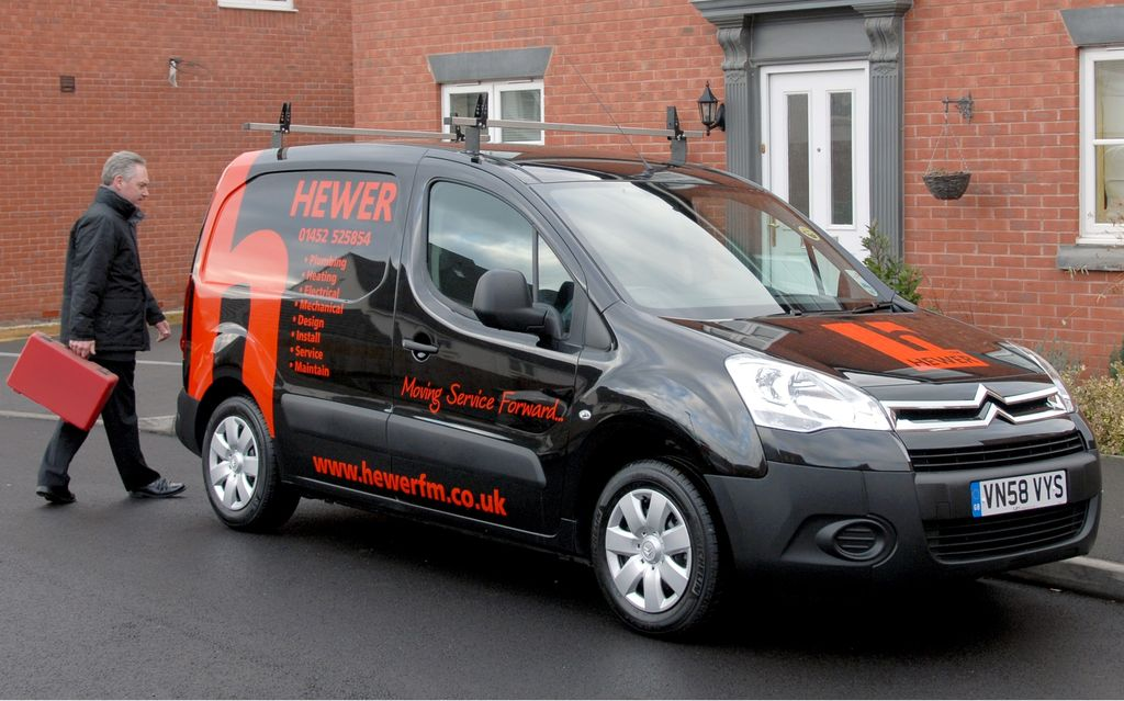 CITROEN BERLINGO black