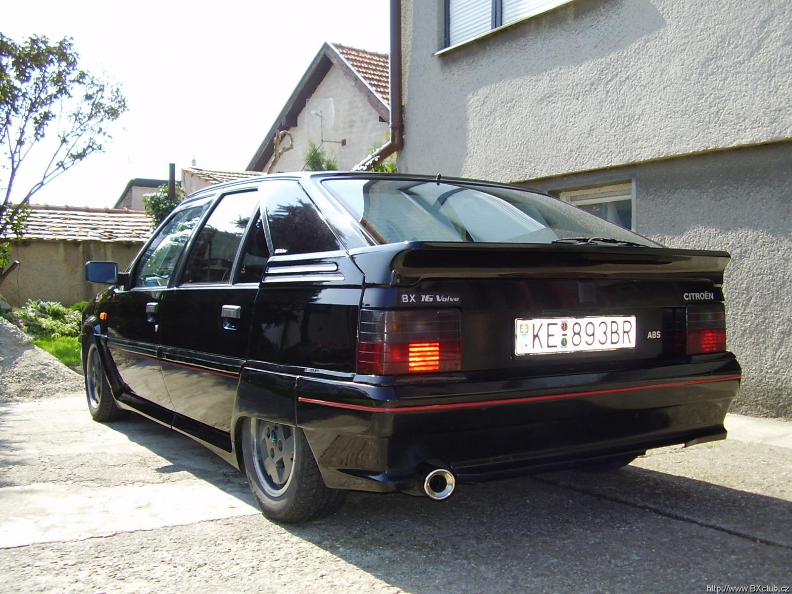 CITROEN BX black