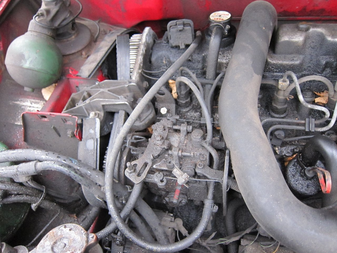CITROEN BX engine