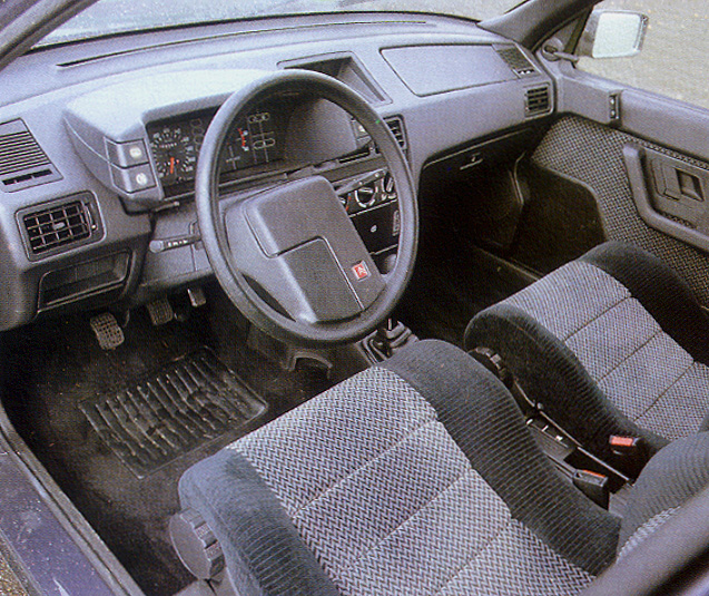 CITROEN BX interior