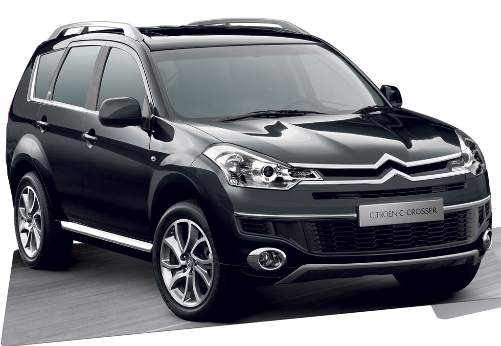 citroen c crosser review and photos. Black Bedroom Furniture Sets. Home Design Ideas