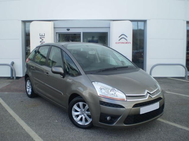 CITROEN C4 brown