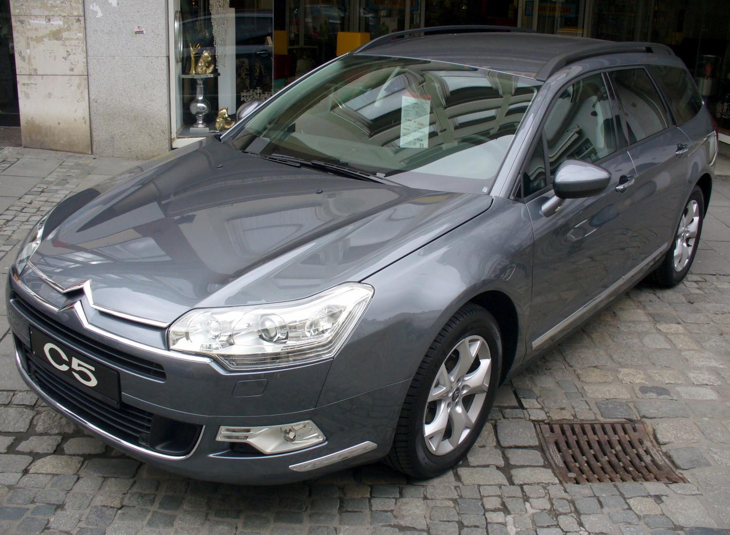 citroen wallpaper (Citroen C5 Tourer)