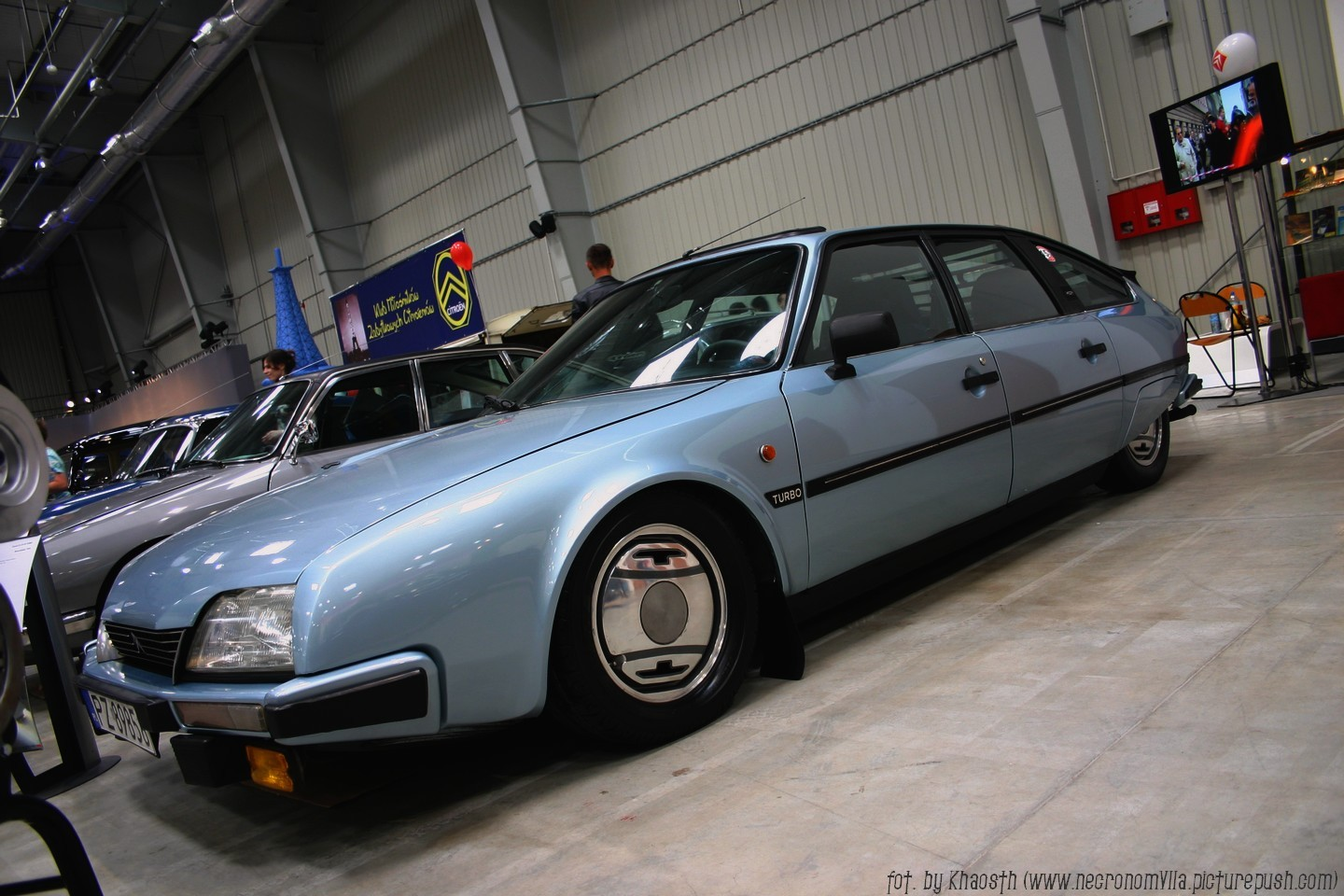 CITROEN CX 2.0 blue
