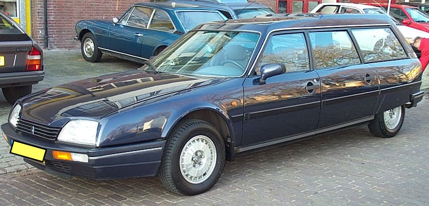 CITROEN CX blue