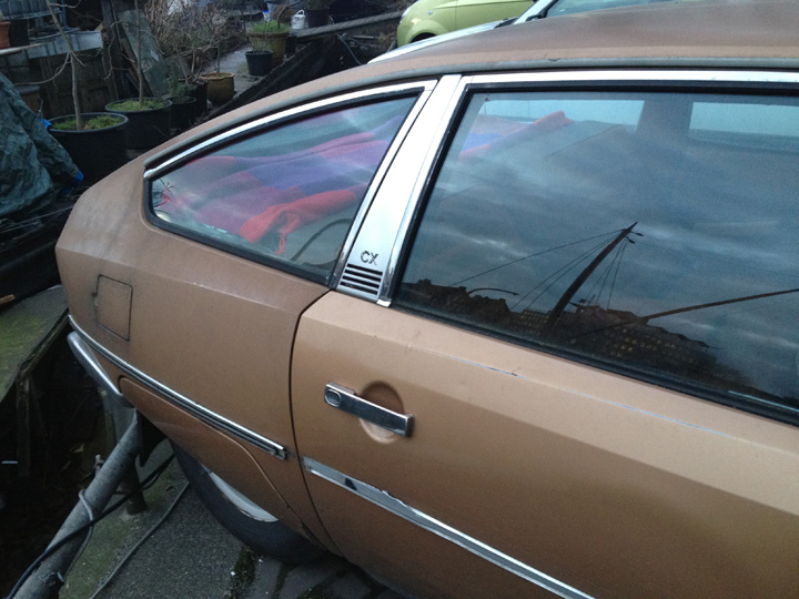 CITROEN CX brown