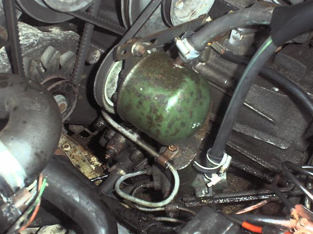 CITROEN CX engine