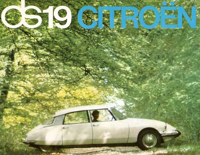 CITROEN DS 19 green