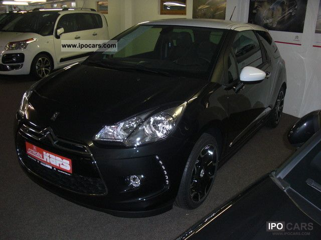 CITROEN DS3 CHIC black