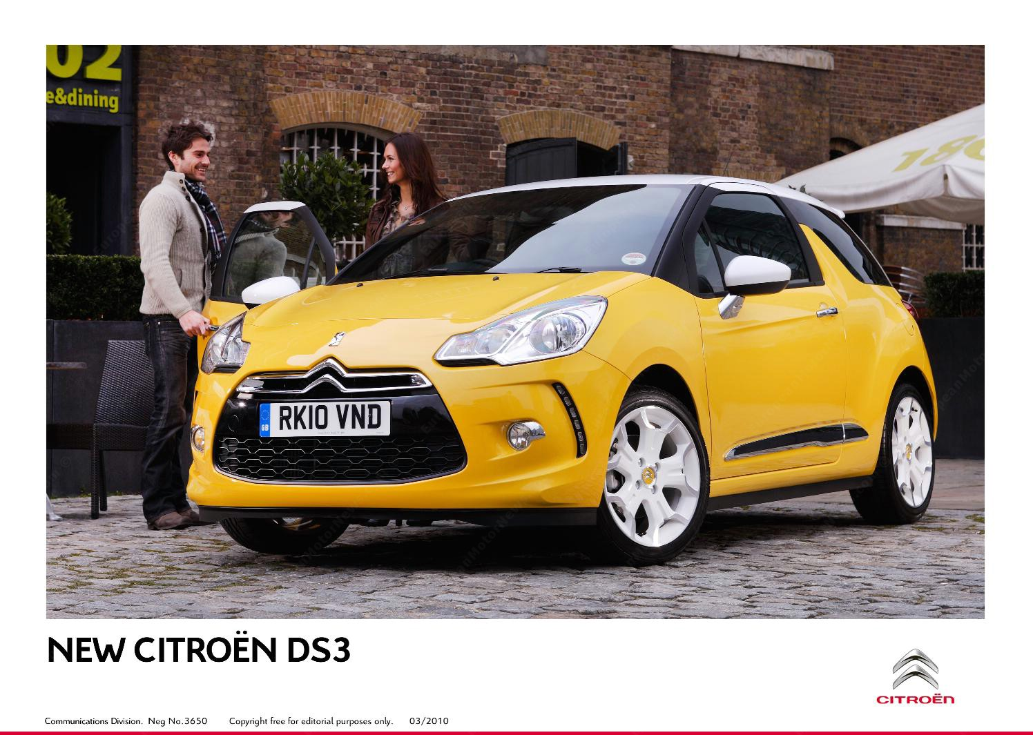 CITROEN DS3 CHIC interior