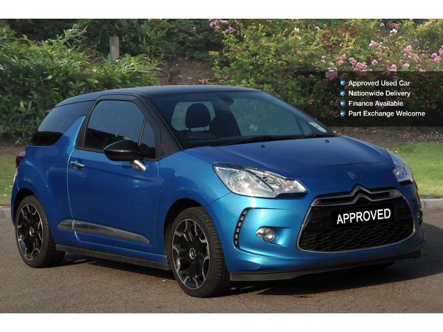 CITROEN DS3 blue