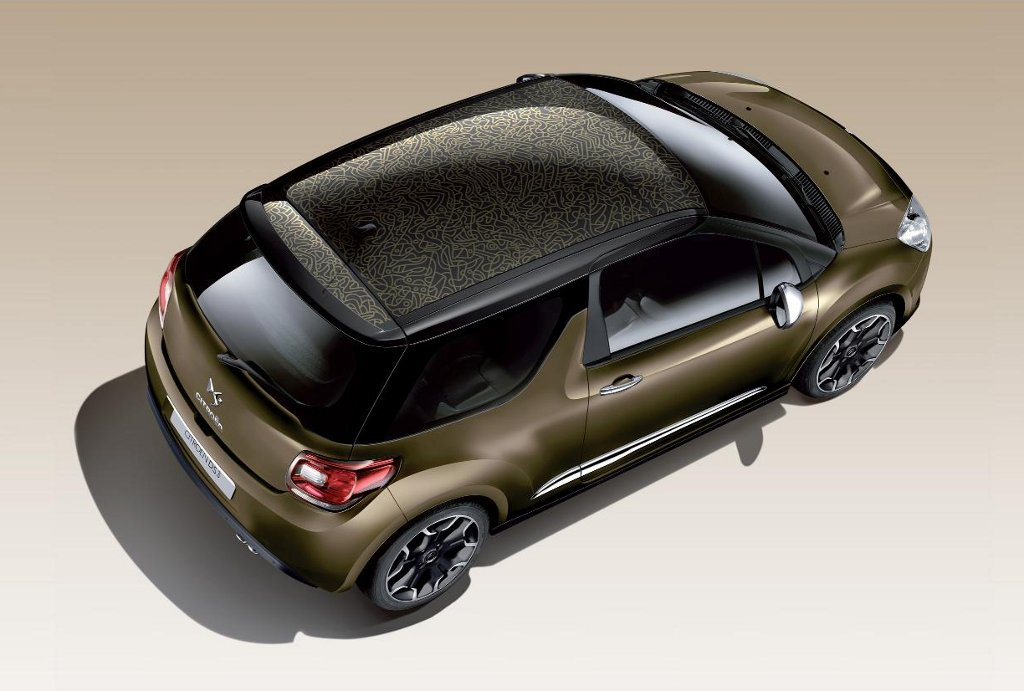 CITROEN DS3 brown