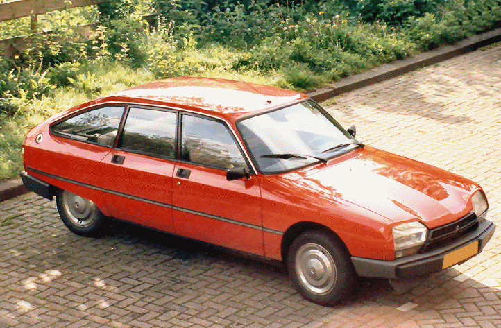 CITROEN GSA SPECIAL red