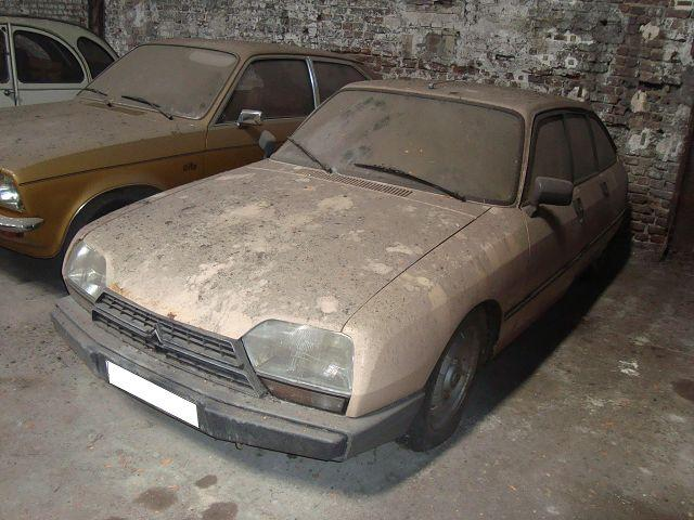 CITROEN GSA brown