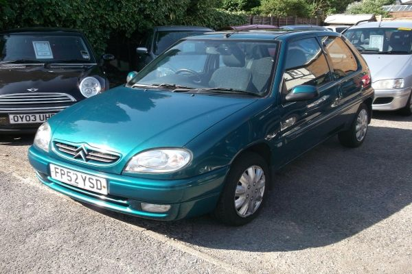 CITROEN SAXO 1.0 blue