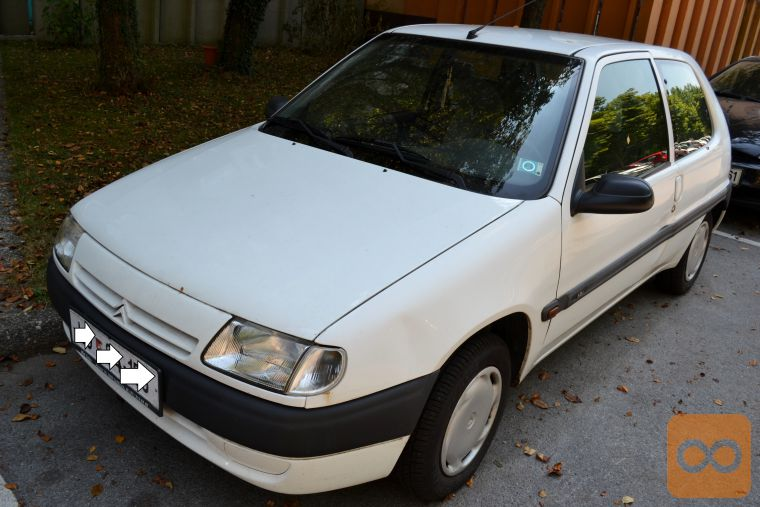 CITROEN SAXO 1.0 white