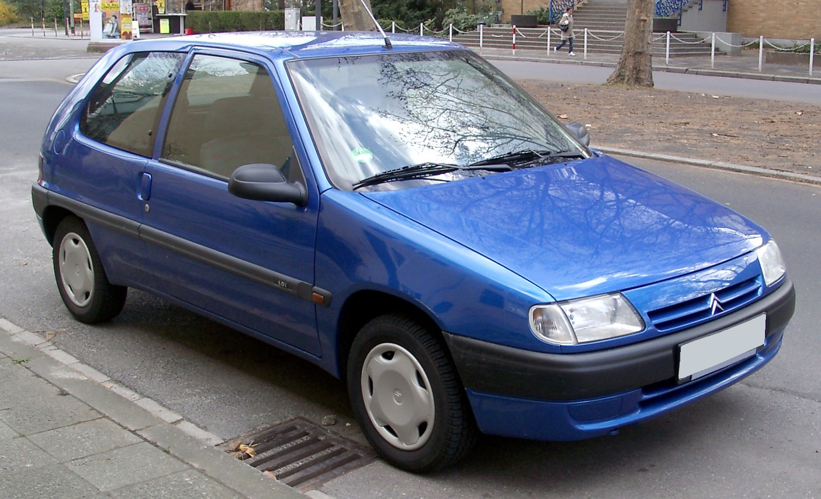 CITROEN SAXO blue