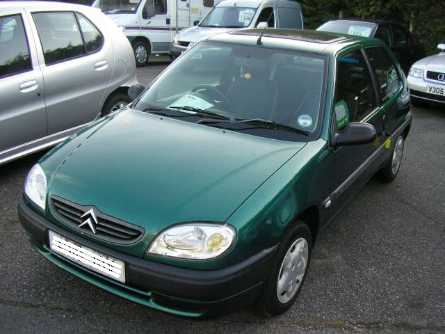 CITROEN SAXO green