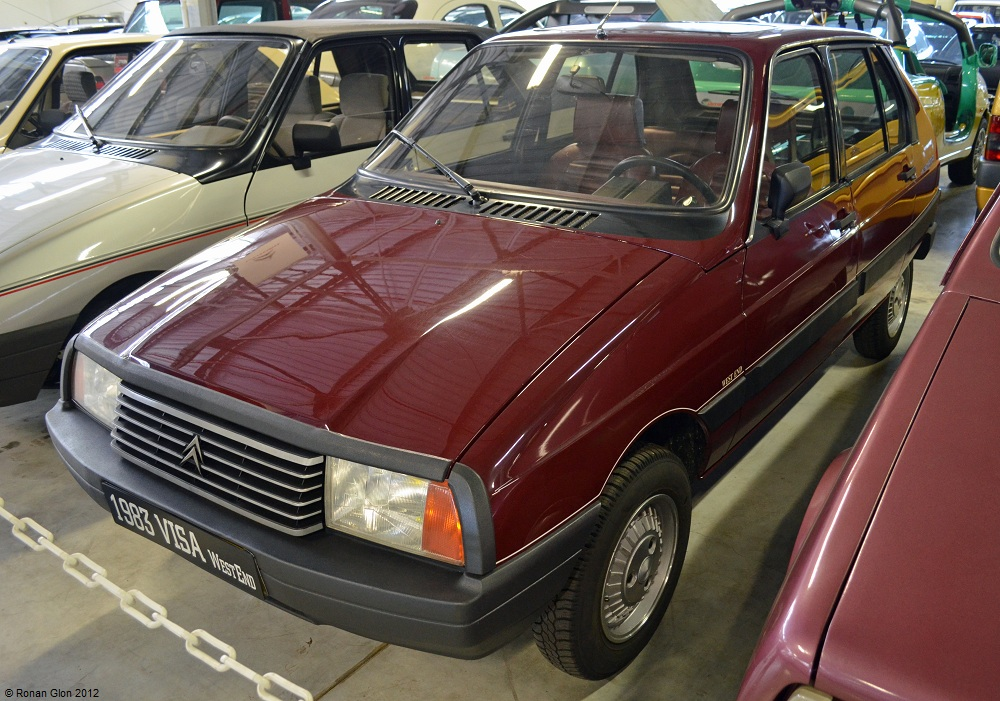 CITROEN VISA blue