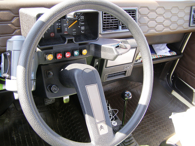CITROEN VISA interior