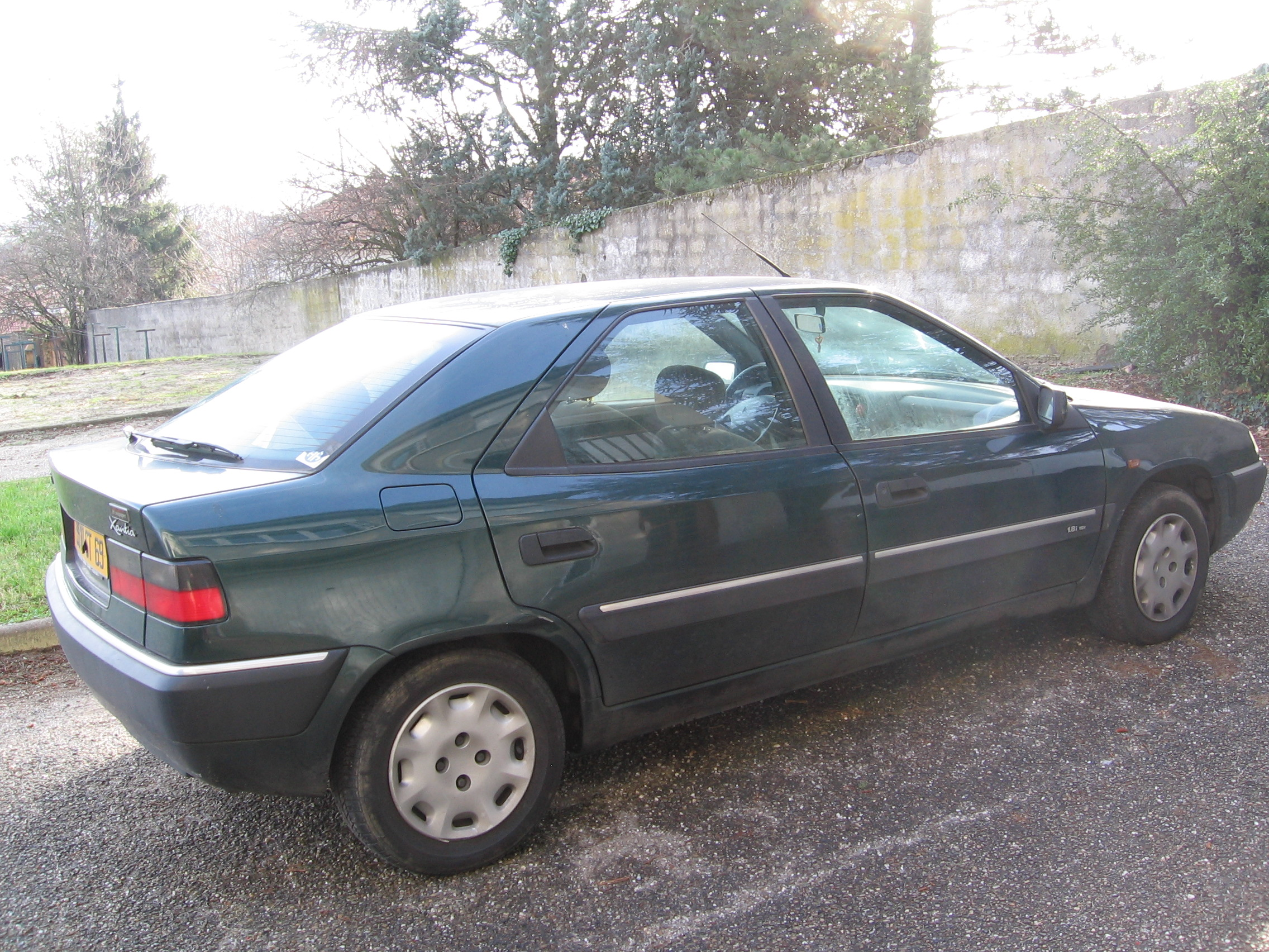 CITROEN XANTIA 1.6 engine