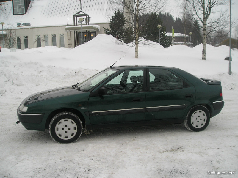 CITROEN XANTIA 1.6 green