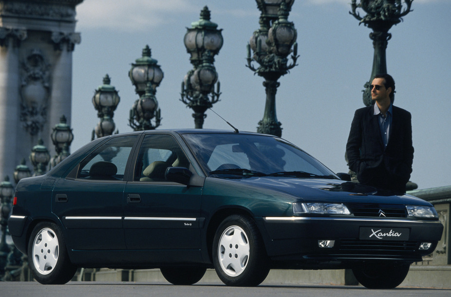 CITROEN XANTIA black
