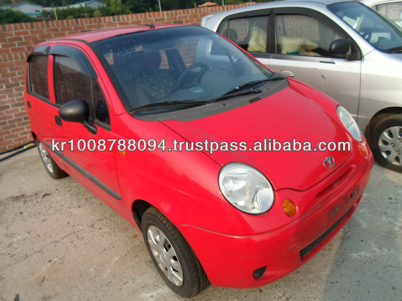 DAEWOO MATIZ 0.8 red
