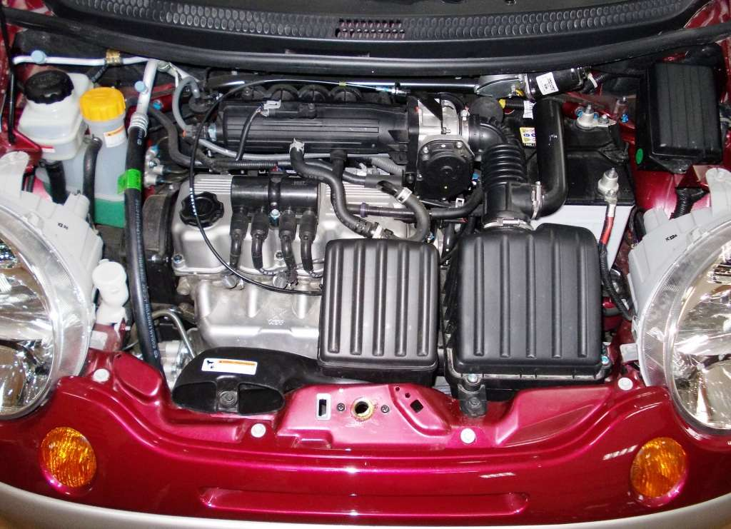 DAEWOO MATIZ engine