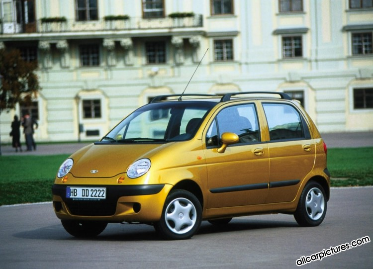DAEWOO MATIZ - Review and photos