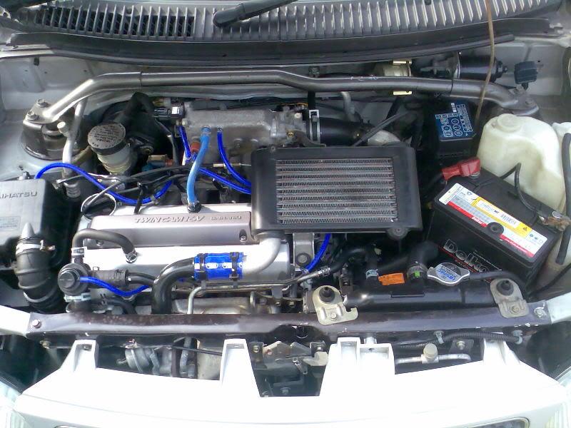 DAIHATSU MIRA engine