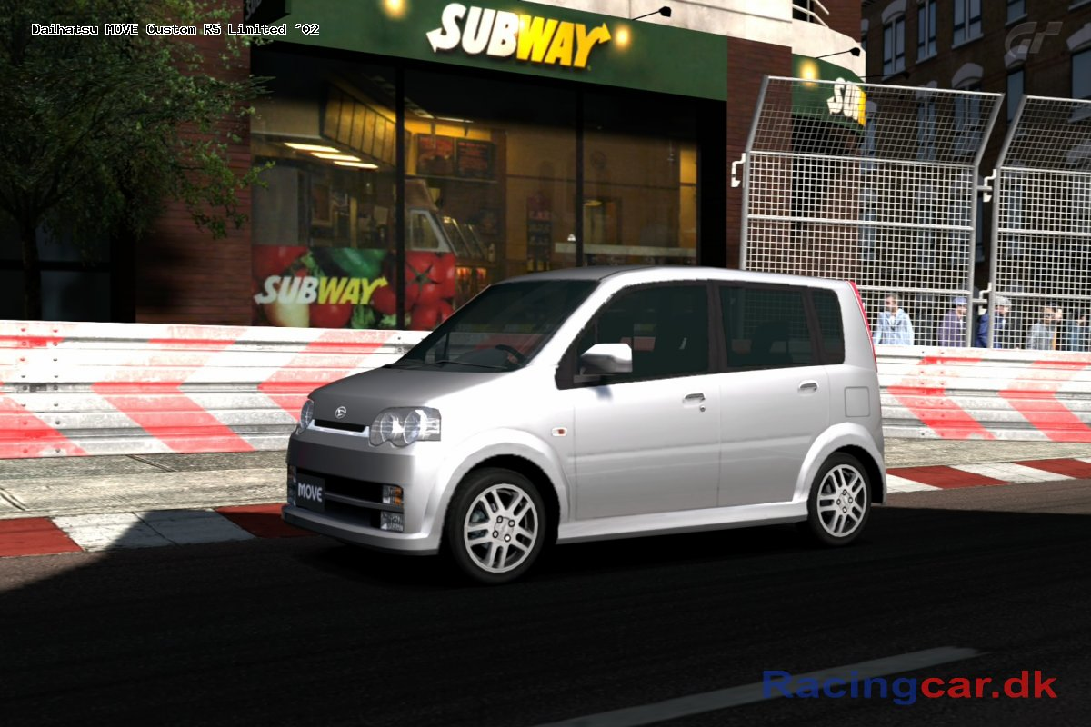 DAIHATSU MOVE RS brown
