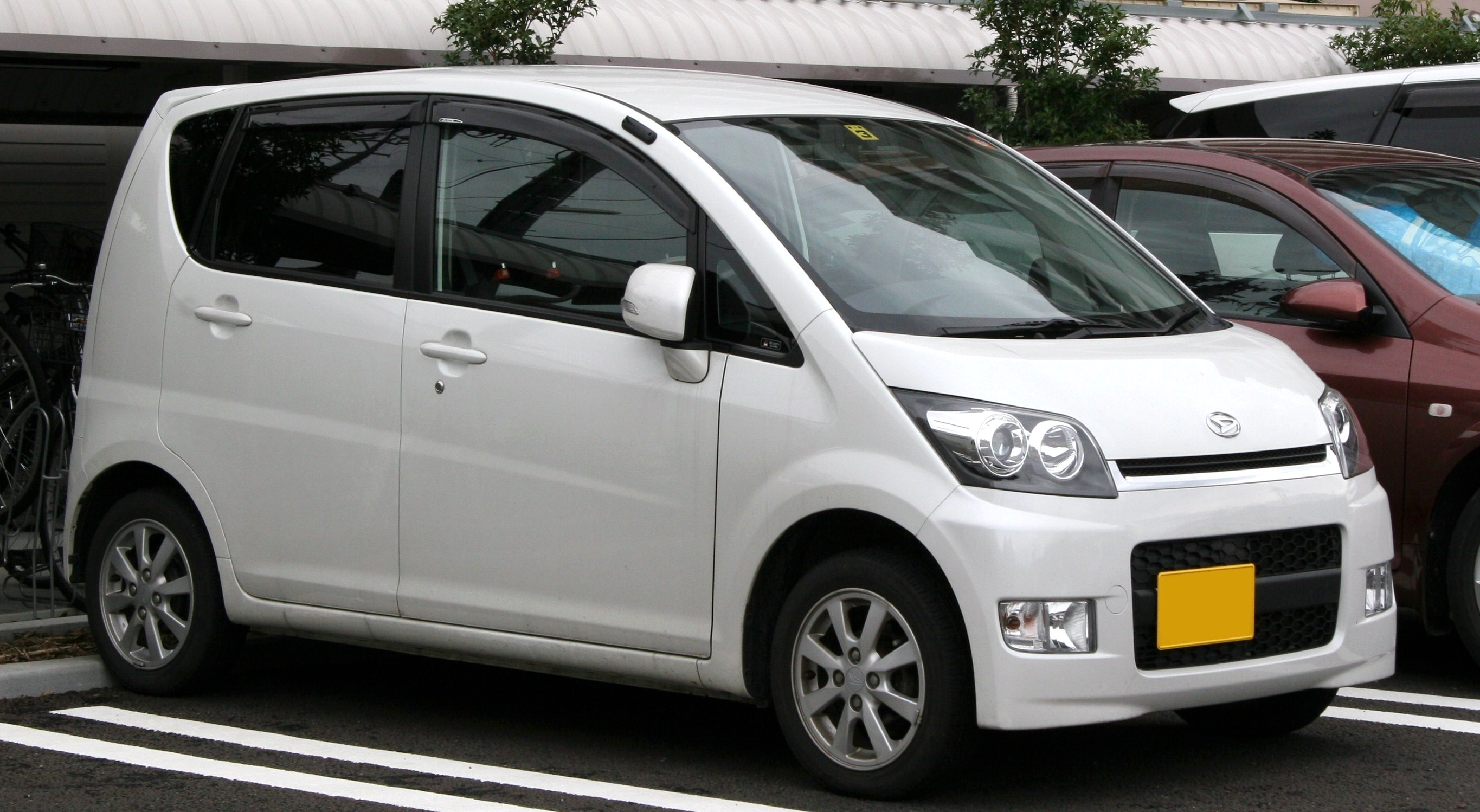 DAIHATSU MOVE RS engine