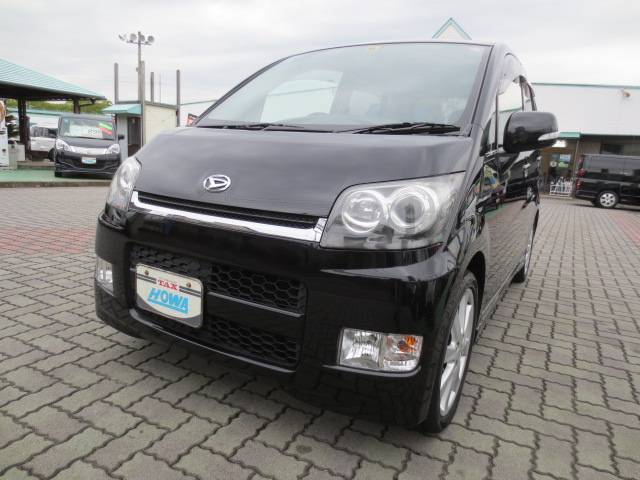 DAIHATSU MOVE RS red