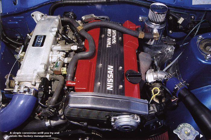 DATSUN 1200 engine
