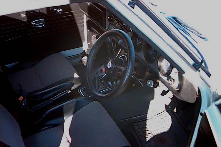 DATSUN 1200 interior