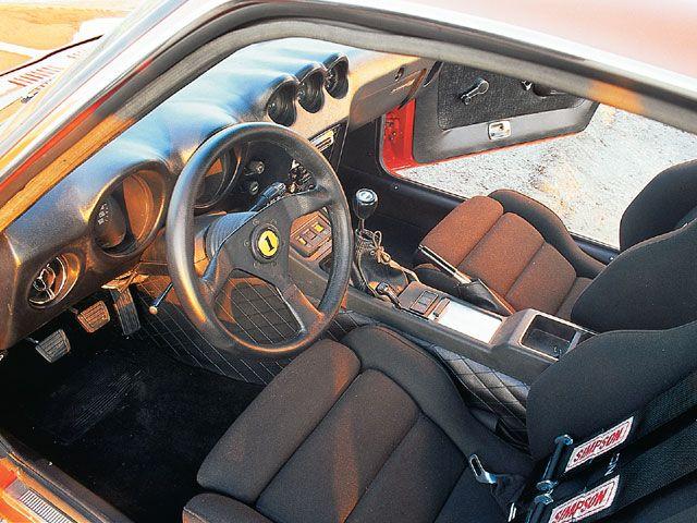 DATSUN 240 Z interior