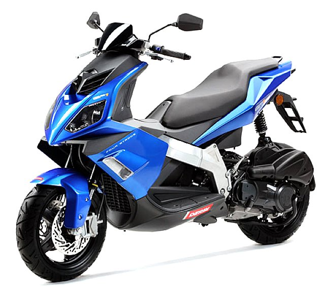 DERBI GP1 250 blue