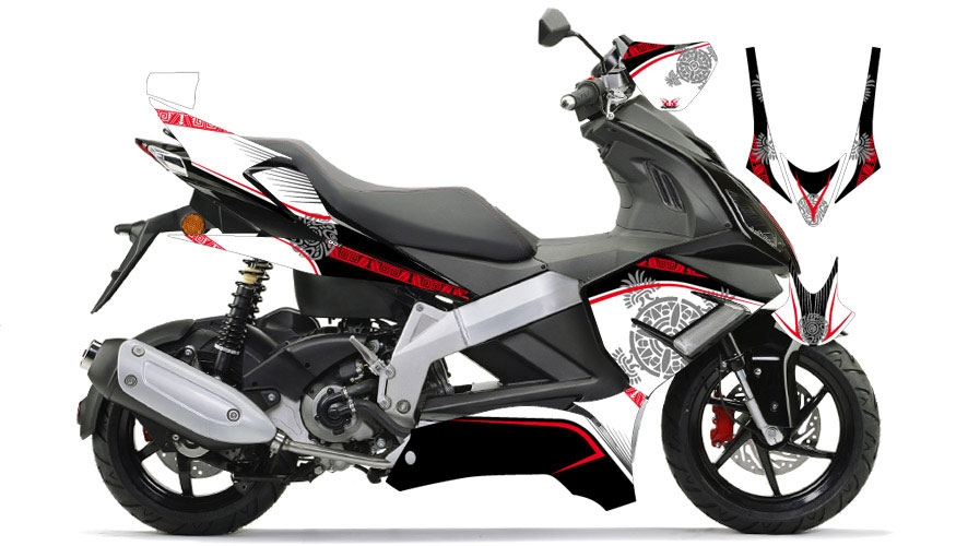 DERBI GP1 250 white