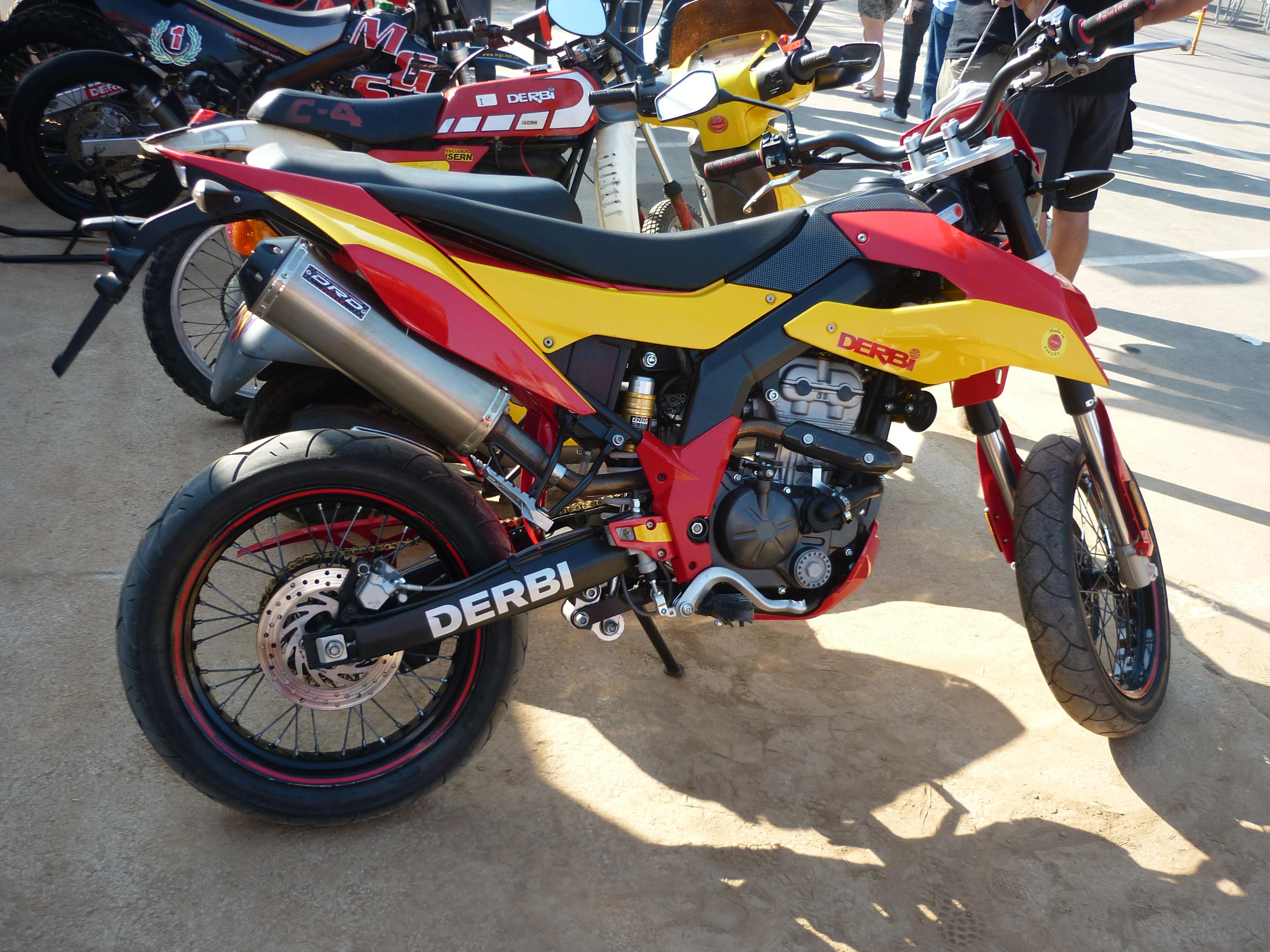 DERBI SENDA 125