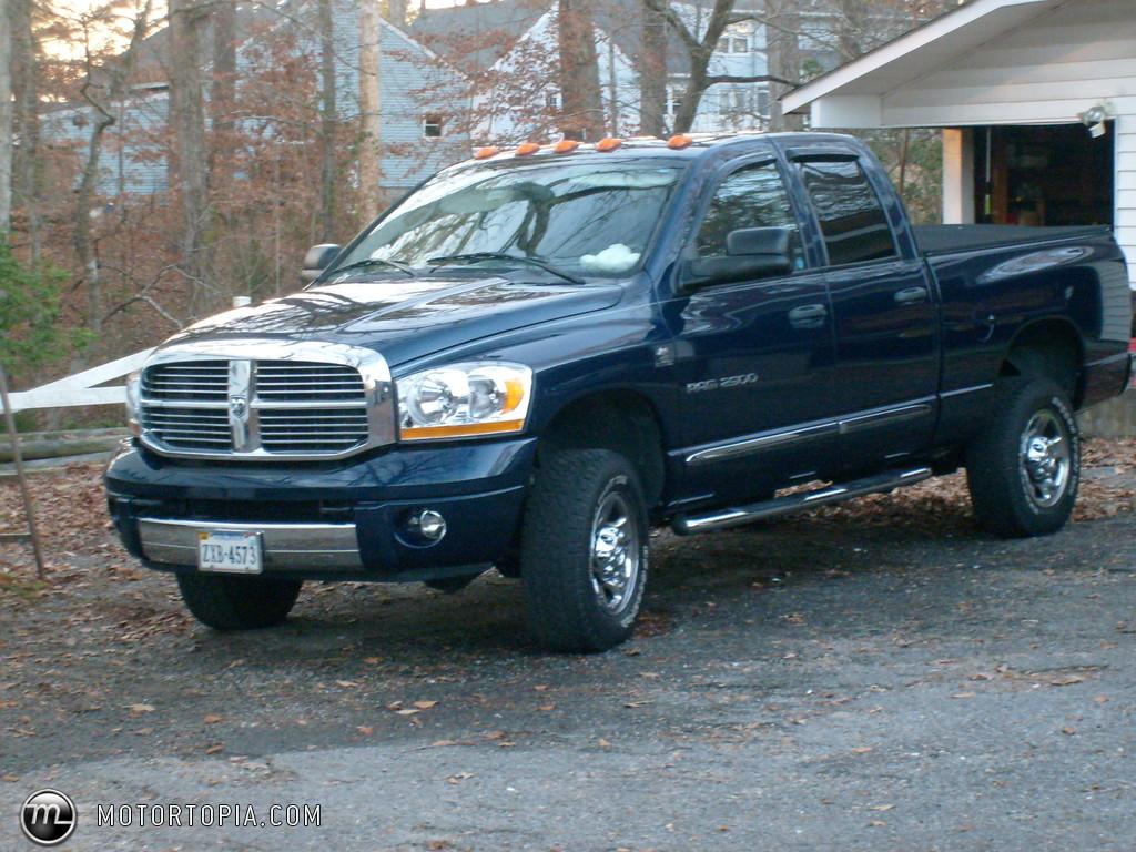 DODGE 2500 blue