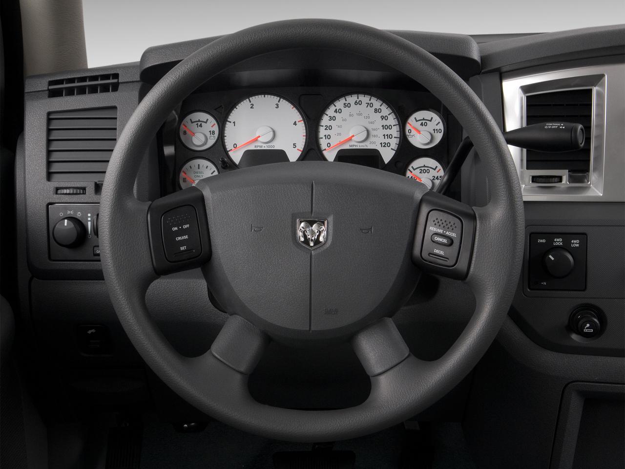 DODGE 2500 interior