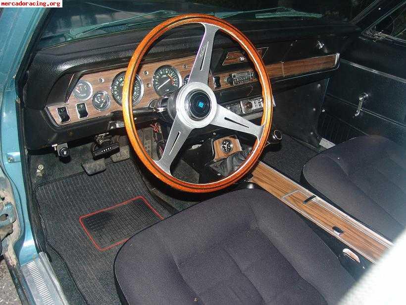 DODGE 3700 GT interior