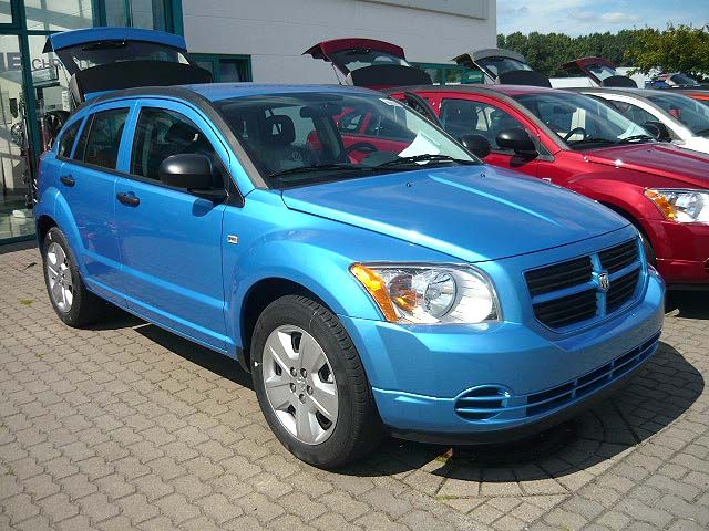 DODGE CALIBER blue