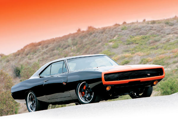 DODGE CHARGER 440 black