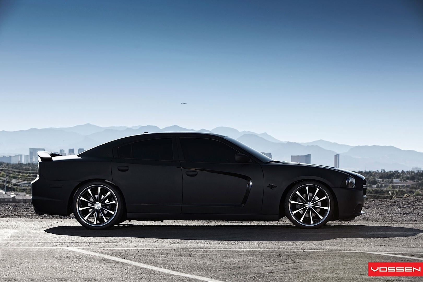 DODGE CHARGER black